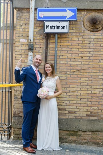 Svadba vo dvojici v Rime KD2