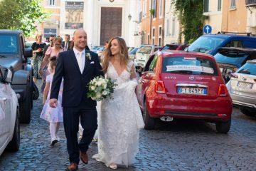 Svadba v Rime s rodinou ME prezent